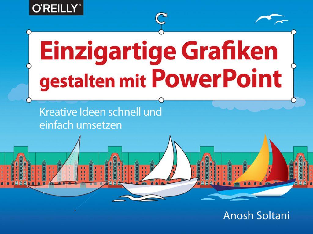 Das Buch Einzigartige Grafiken gestalten mit PowerPoint